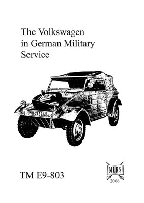 The Volkswagen in German Military Service :: Military