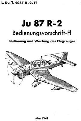 Bedienungsvorschrift Ju 87 R-2 :: Military Library